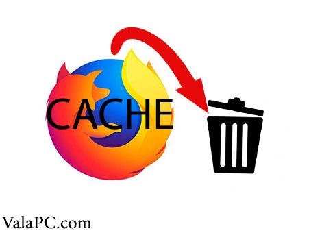پاک کردن کش مرورگر فایرفاکس